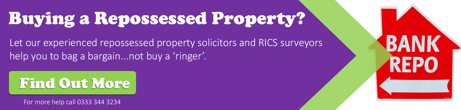 Buying a Repossessed Property