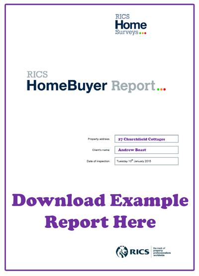 HomeBuyer Report Example