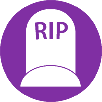 Transfer of Land Ownership due to death from SAM Conveyancing: A gravestone icon